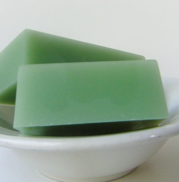 Bar Soaps, Ginger Mint Natural Soap, Made with Essential Oils, Moisturizing Soap, Fresh Mint Scent, Vegan Soaps, 5 oz bar, by fairybubbles