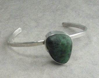 Rock of Ages-sterling Silver Cuff Bracelet