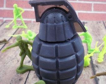 Black Grenade Soap