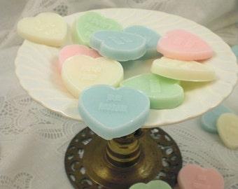 Conversation Hearts Soap