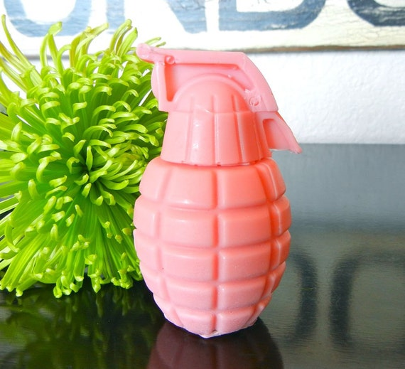 Pink Grenade Soap
