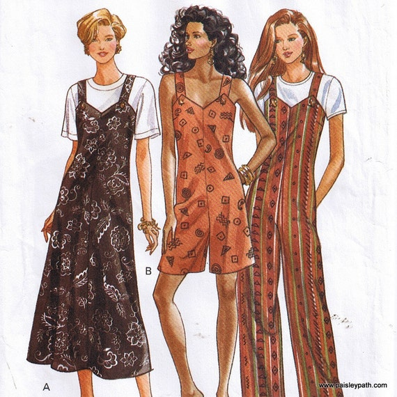 Jumper and Jumpsuit Large and Extra Large Sewing Pattern Butterick 6849