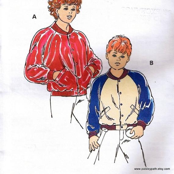 Baseball Jacket Pattern TT5EmK