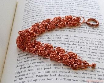 Copper Byzantine Filagree bracelet