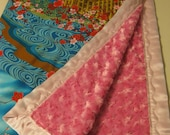 Cherry Blossom Castle Blanket Remake