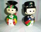 RESERVED            Korean Bobble Heads from the 1950s or 1960s