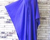Irish Fleece Purple Cape Plus Size