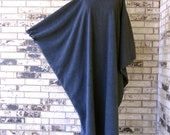 Fleece Caftan with Elastic at Wrist - RESERVED for Anne