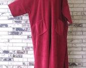 Plus Size Fleece Caftan