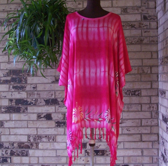 Plus Size Hand Painted Tunic