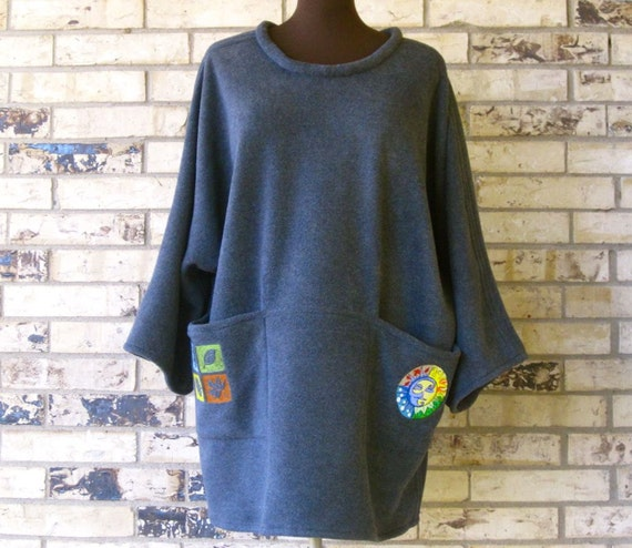 Fleece Pullover Tunic/Cover-Up