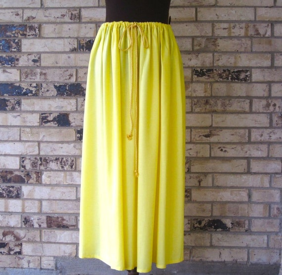 Plus Size Premium Rayon Drawstring Skirt
