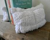 SALE urban white brick bookends
