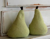 pear pair  green UNFILLED
