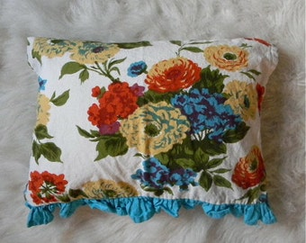 tea towel pillow cover