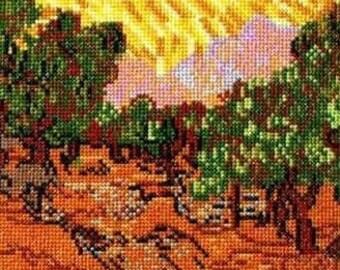 Van Goghs Olive Trees--LB02183
