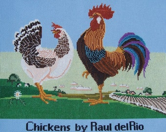 Chickens by Raul delRio