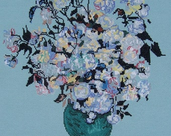 Vase of Roses by Van Gogh