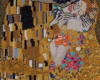 The Kiss by Gustauv Klimt-LB01142