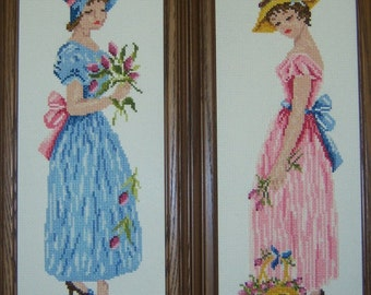 Two Lovely Maidens--LB97064