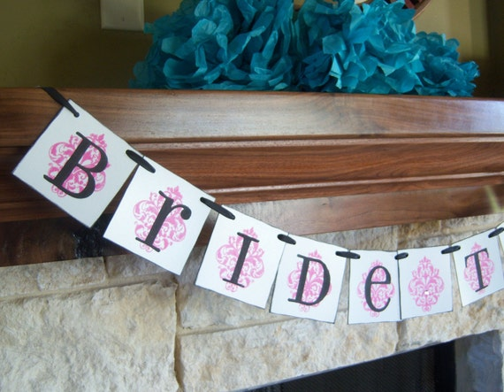 Bride to Be wedding banner, decoration, custom colors, bride, reception,bridal shower,sign