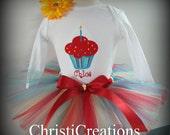Circus 1st Birthday Custom Made birthday Tutu Set Photo Props