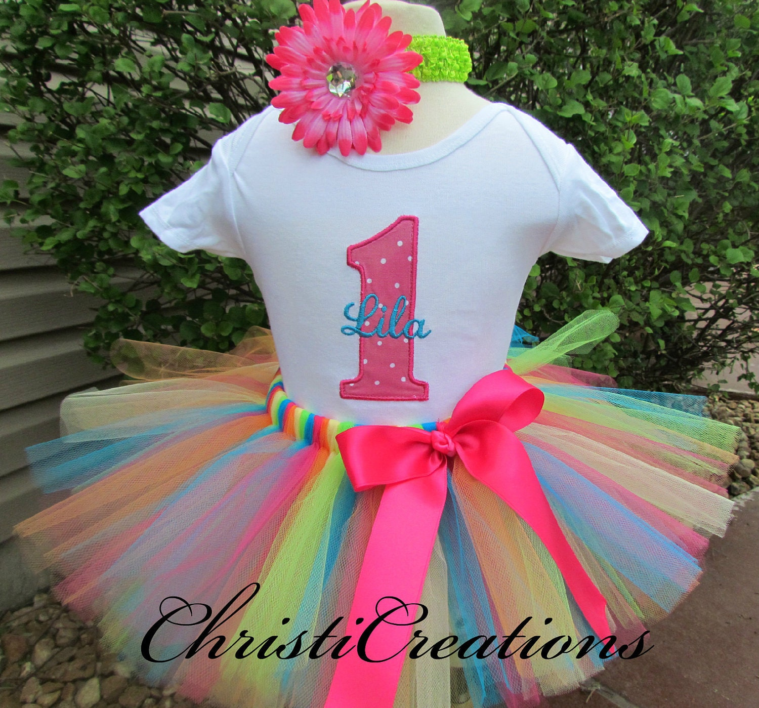 Tutus Tutu: Baby Girl 1st Birthday Tutu Set Cake Smash By ChristiCreations