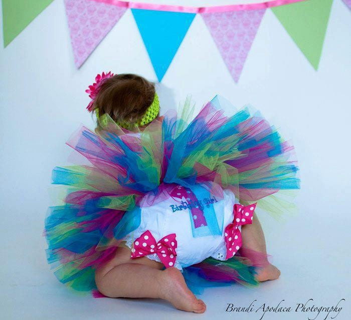 1st Birthday Girl Bloomers 1st Birthday Diaper Cover Baby