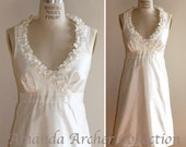 Bella Dress Ivory, MADE TO ORDER, Wait-List