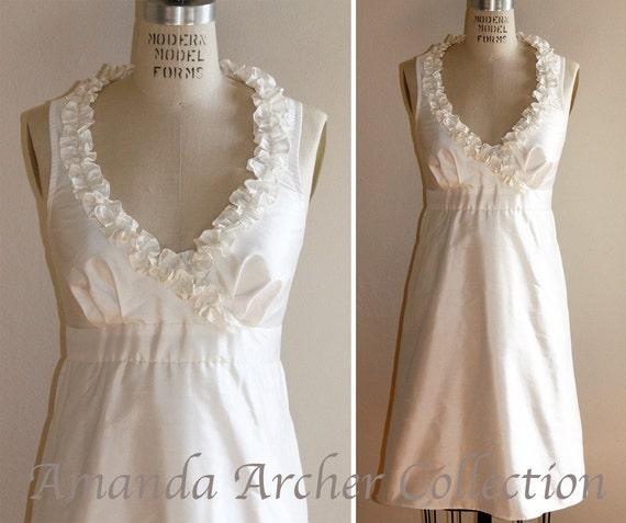 Bella Dress Ivory, MADE TO ORDER, Wait-List