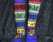 Hogwarts Socks for Children PDF Knitting Pattern
