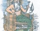 Merman Original ACEO