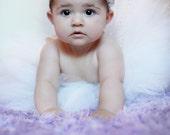 Toddler White Tutu with G...