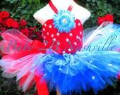 Girls PatrioticTutu Outfit 5-6T