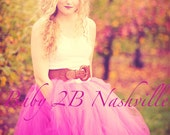 Fuchsia  Adult Tutu Weddi...
