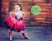 Pink Baby Girl Pirate Tut...