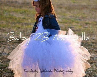 Portrait Length Tutu 4T and under length up to 20 inches