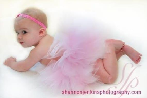 Pink Baby Portrait/Birthday Tutu