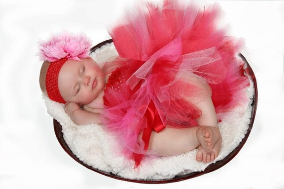 Valentine Red Hot Baby Outfit Perfect for Birthdays and Photo Props