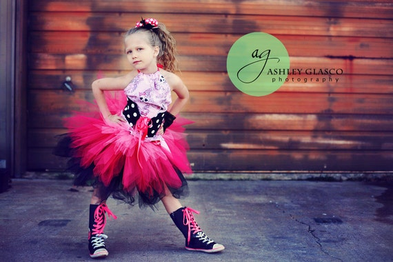 Pink Baby Girl Pirate Tutu Outfit in Baby to Girls 10