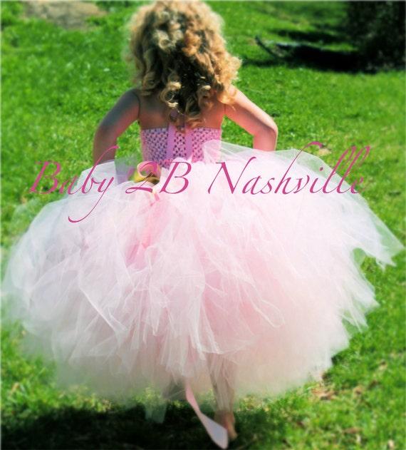 Flower Girl Dress Tutu Wedding Dress Tutu Girls Dress Skirt Baby Skirt Toddler Skirt Girls Skirt  Pink Skirt Red Skirt Tulle Skirt