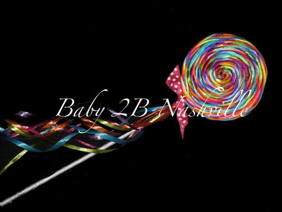 Matching Lollipop  Photo Prop
