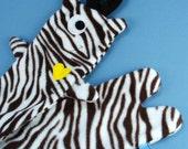 Tigsy the Tiger-Moose - Long fleece scarf
