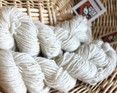 Upland Wool and Mohair - Natural Yarn for Knit Along