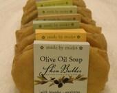 shea butter OLIVE OIL soap