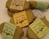 Online special--THREE luscious olive oil soaps