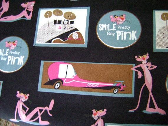 PINK PANTHER Fabric
