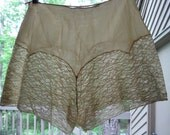 VINTAGE 20s 30s Depression Era Victorian Silk Lace Panties Bloomers