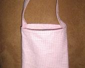 Pink Fleece Bag