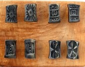 Hand forged cabinet pulls (set of eight)